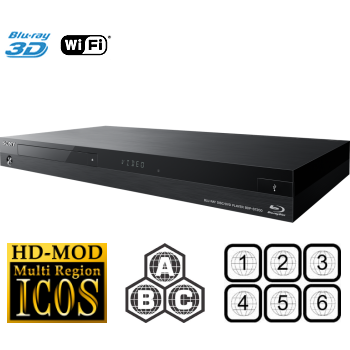 Multiregio Sony BDP-S7200