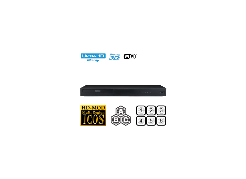 Multiregion LG UBK90 - Stegen Electronics