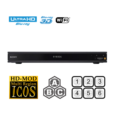 Multiregion Sony UBP-X1000ES