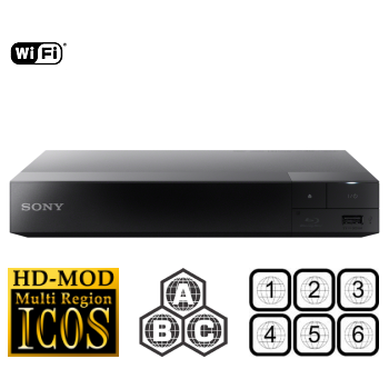 Multiregio Sony BDP-S3700