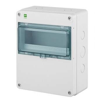 Enclosure IP65 with DIN rail